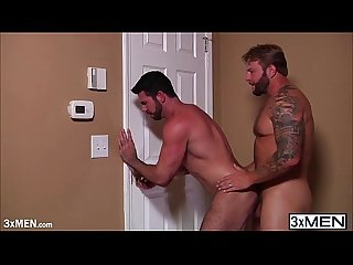 Horny lovers billy santoro and colby jansen gay fucked in many position