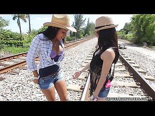 Public lesbian teen sex lets run a train