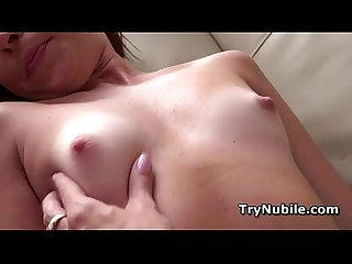 Delicate kaylee haze fucked as nubile model