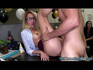 Cfnm slut fucked bigcock