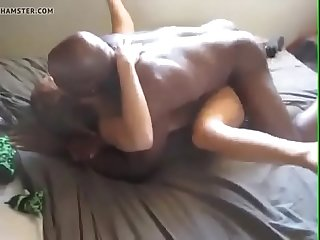 Cuckold Interracial Action with Hot GF Fucked by BBC - DiamondCox.com