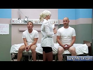 Doctor treat with hard bang A sexy patient lpar gigi allens rpar movie 12