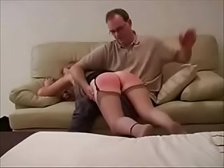 Best Dad Spanking Mom Ever. Heels Stockings. See pt2 at..