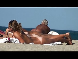 Nudist beach full hd clip