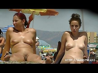 A voracious voyeur loves making videos on the nude beach