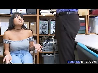 Latina Filipina Teen Fucked For Shoplifting