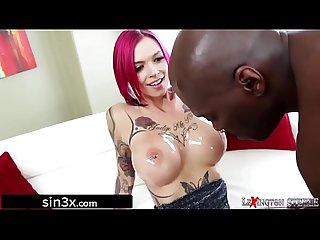 Big Tits Ink Queen on HUGE Black Cock - Anna Bell Peaks, Lexington Steele
