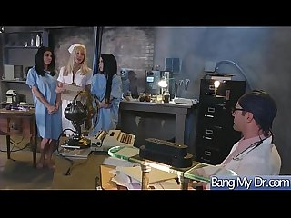 (Noelle Easton & Peta Jensen) Sexy Patient Come At Doctor And Get Hardcore Bang clip-23