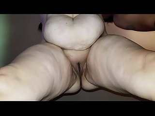 Sexy bbw squirts all over the camera