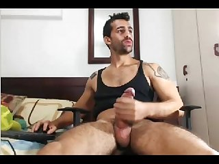 Sexy guy with monster cock on cam jerkit ne