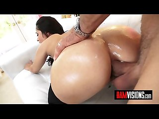 BAM Visions Busty Crystal Rush and Ivy Lebelle Get Assfucked by Mick Blue