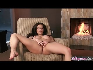 Twistys - (Taylor Vixen) starring at Relaxing By The Fire