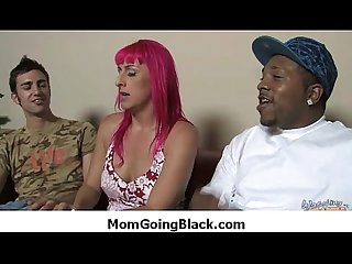 Watching my mom going black amazing interracial porn 29