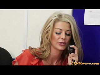 Femdom cfnm alyssa divine rough office affair
