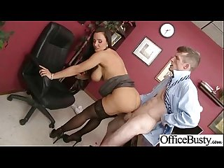Worker Busty girl lpar lisa Ann rpar get sluty and bang hard style in Office Movie 25