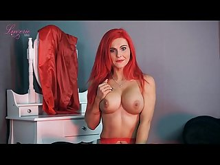 Sexy dirty talk from a fake titty chick with long pink hair babe porn
