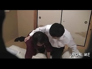 Alluring asian older mounts hard wang and rides it wildly