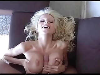 Danielle derek gets her tits fuck with a facial reward