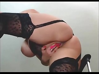 Huge Natural Boobs Curvy Latina Squirting and Masturbating Sex Cam