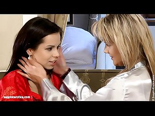 Sensual Lickers by Sapphic Erotica - sensual lesbian sex scene with Regina and K