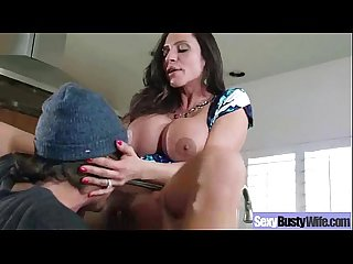 Busty horny wife Ariella ferrera love hard sex on tape video 04