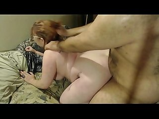 Father Forced Cock in Daughters Pussy from Behind