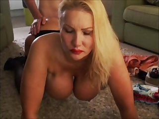 British Escort fucked doggy by her clients