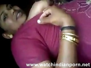 Desi randi is kissing her lover and lets him suck and lick her boobs watch indian porn via torchbr