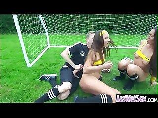 (Amirah Adara & Mea Melone) Superb Girl With Big Wet Butt Enjoy Anal Sex clip-08