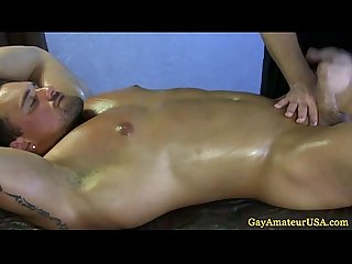 Muscled Amateur Straight wanked off