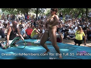 Bikini Contest At Nudist Resort Gets Wild & Everyone Gets Naked