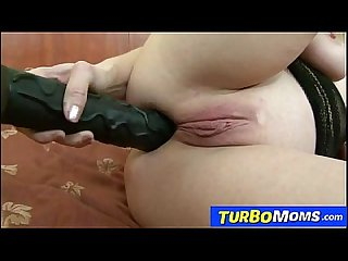 Black monster cock anal fuck with busty hungarian cougar ildiko