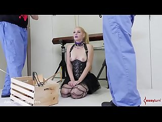 Hot anal pain slut gets a rough ass to mouth probing