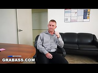 GRAB ASS - Scott Riley Is The Perfect Employee, Always Working Hard To Please The Boss