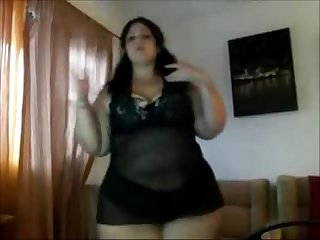 Arabic bbw making it clap