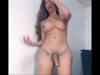 Very hot transsexual cumshot - travestisamadoras.com.br