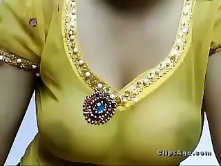 Indian beauty yellow wardrobe