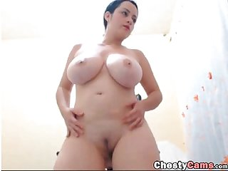 Bbw Dancing with her big Ass and tits