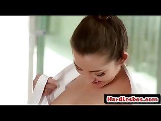 Dani Daniels & Sara Luvv - Babes lesbian take a bath