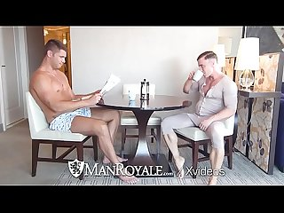 ManRoyale Thick Cock With a Cup of Coffee