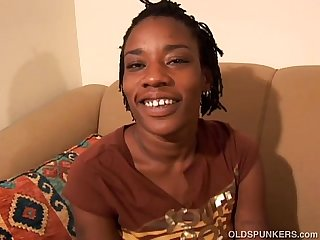 Super cute black MILF wishes you were fucking her juicy pussy