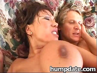 Huge tit babe ava devine gets double penetrated