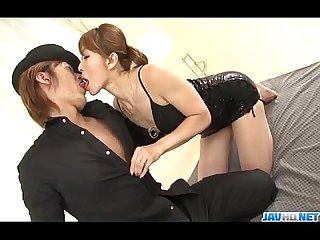 Koda riri asian milf enjoys young cocks in her