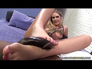 Alysha rylee Bbc foot Fetish