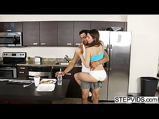 Lucy doll seducing her stepdad