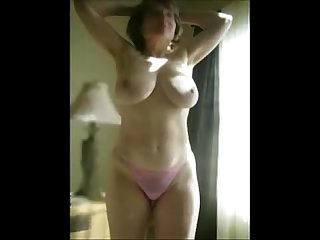 Marierocks 50 plus milf getting naked to brighten your day