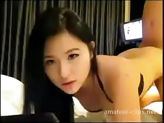 Asian horny slut fucked doggystyle amateur sex - more..