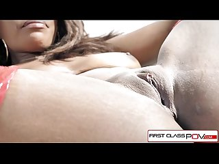 FirstClassPOV - Daya Knight sucking a big hard dick, big boobs & big booty