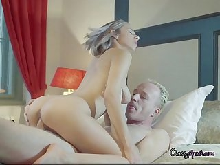 Tracy is excited to ride her lovers big cock and cum