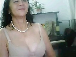 Amateur asian mature rubbing